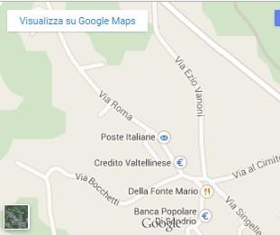 il Santuario del Divin Prigioniero: mappa