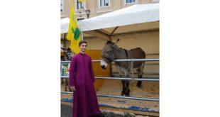 Benedizione degli animali in piazza San Pietro