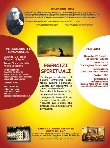 Esercizi spirituali 2019