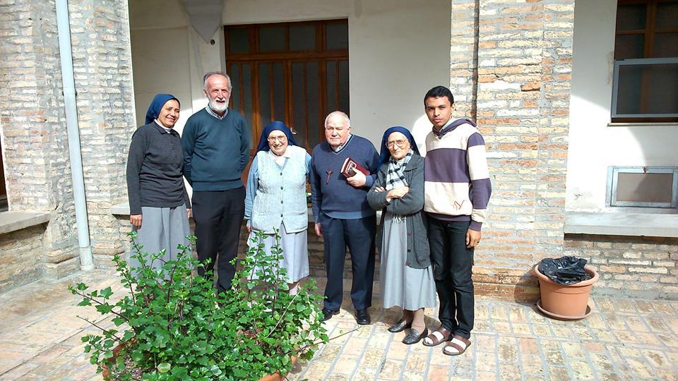 Pedro Quiriti don Vittorio Ferrari e Wanderlino Araujo
