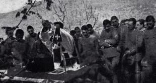 don Folci nella celebrazione Pasqua 1917