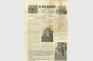 Il Richiamo – Numero Unico 4 Novembre 1929 Copertina