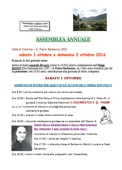 assemblea annuale