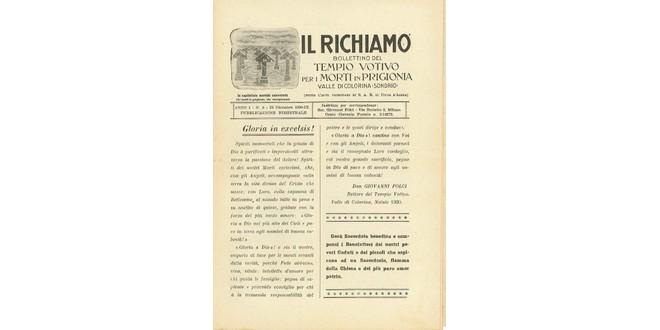 Richiamo Numero 5 - Dicembre 1930