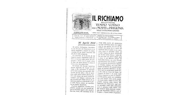 Richiamo n.7 - Aprile 1931