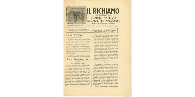 Richiamo n.8 - Giugno 1931
