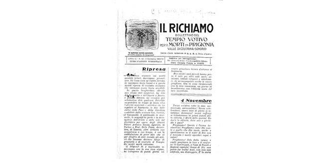Richiamo n.12 - Novembre 1932