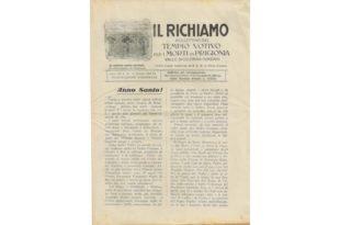 Richiamo n. 15 - Maggio 1933