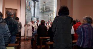santa messa prefestiva in suffragio di don Matteo Forni