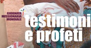 24 OTTOBRE 2021: Giornata Missionaria Mondiale